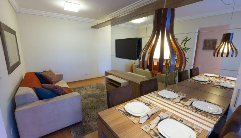 Living Apto Residencial Villa Frascatti - Foto 19