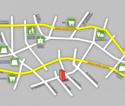 Mapa Residencial Montese - Foto 06