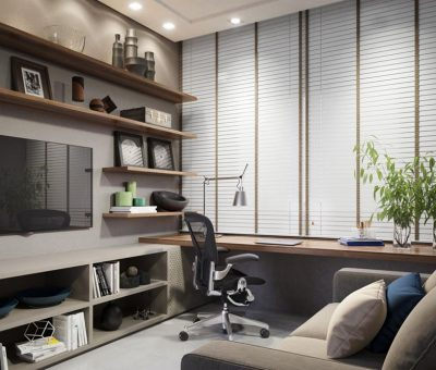 Home Office Residencial Ginza